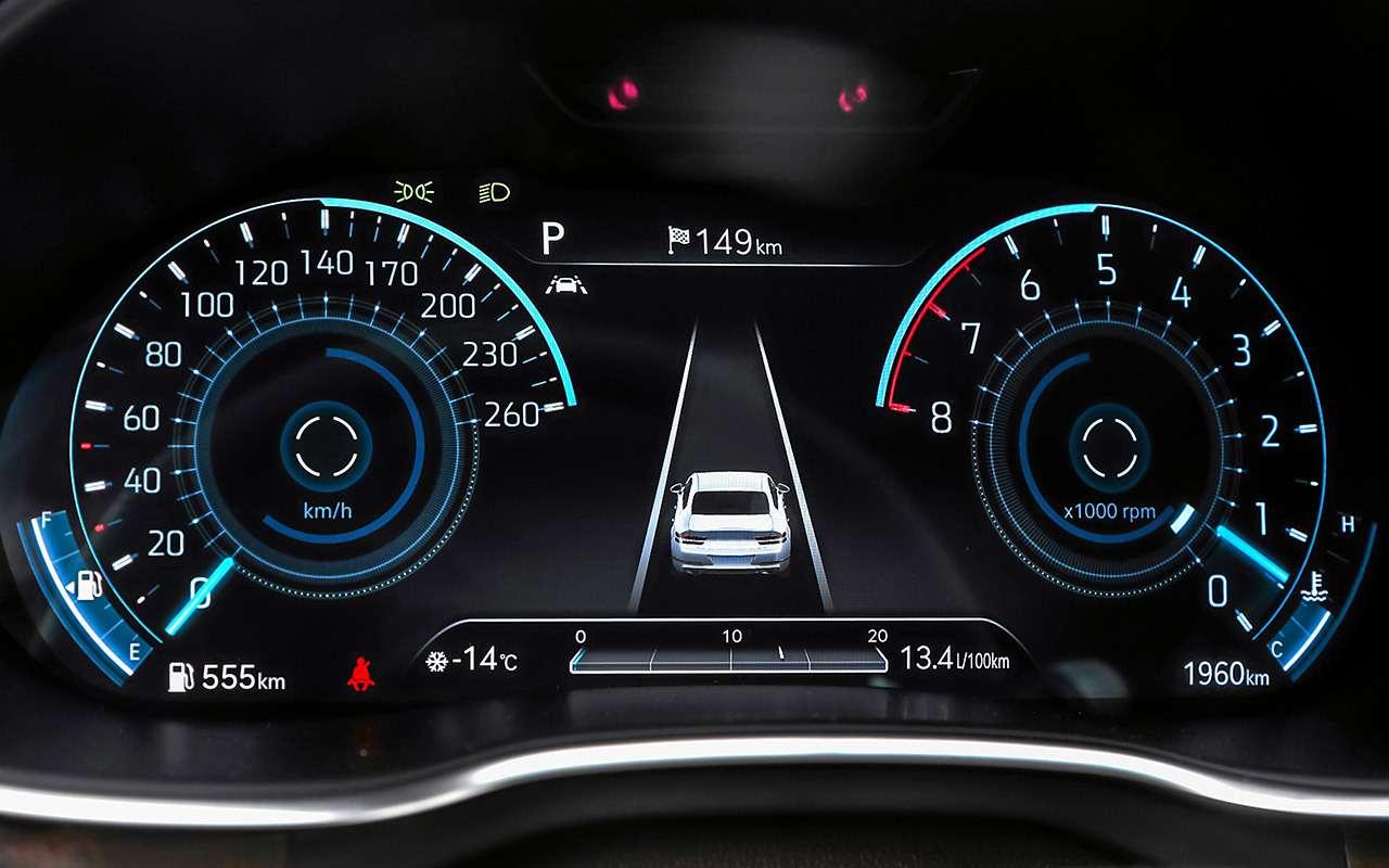 Тест бизнес-седана Genesis G80— фото 1247113