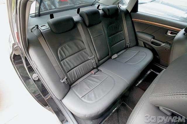 Hyundai Grandeur: Высоко сижу— фото 65843