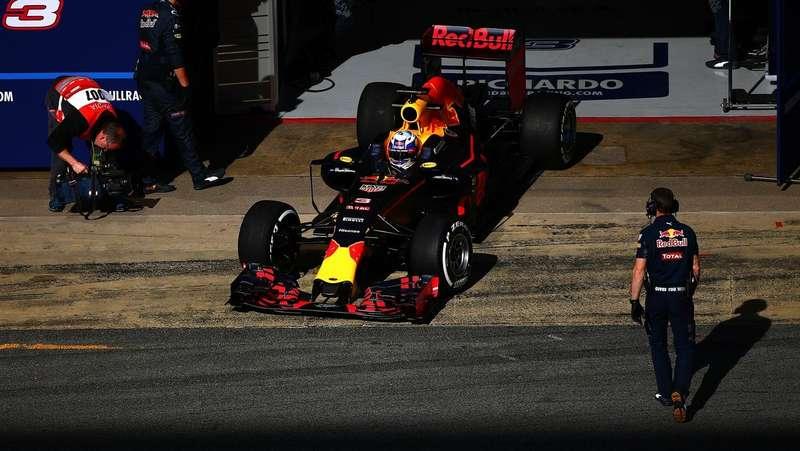 RedBull, Формула-1