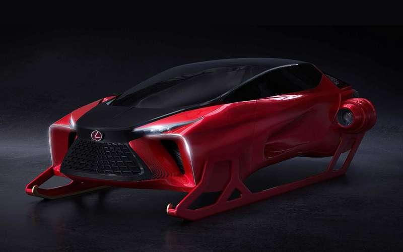 Lexus сделал дляДеда Мороза новые сани
