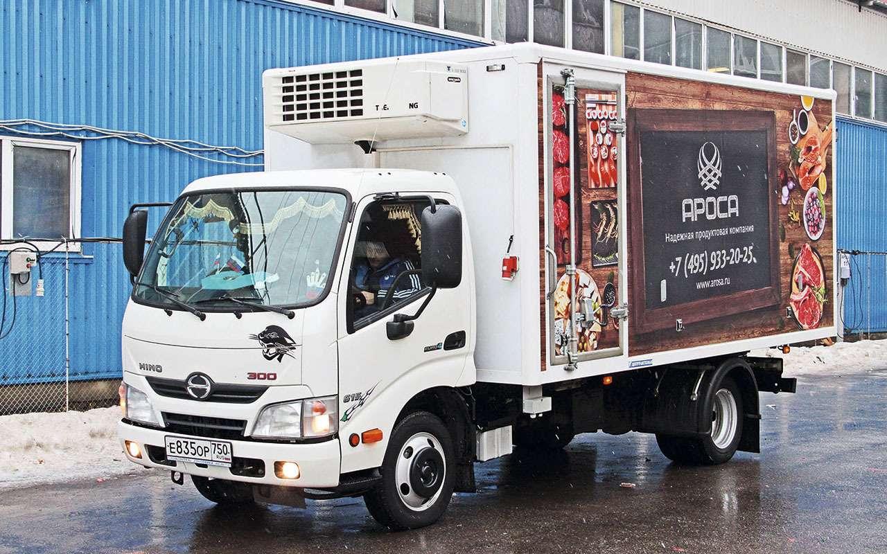 Фургоны-рефрижераторы Hino 300— реальный опыт эксплуатации— фото 1255132