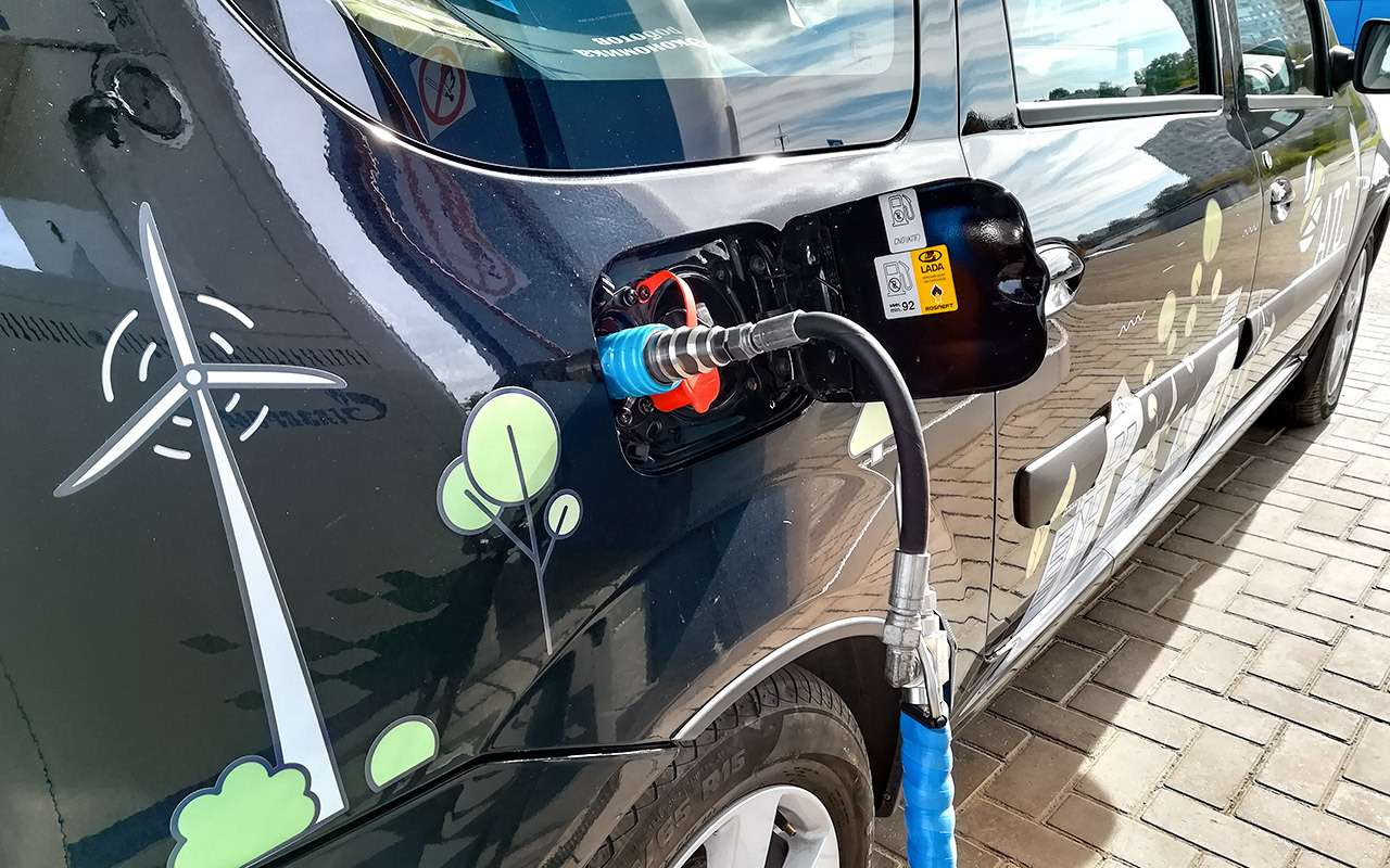 3000 км на метановом Ларгусе: считаем реальную экономию! — фото 985338