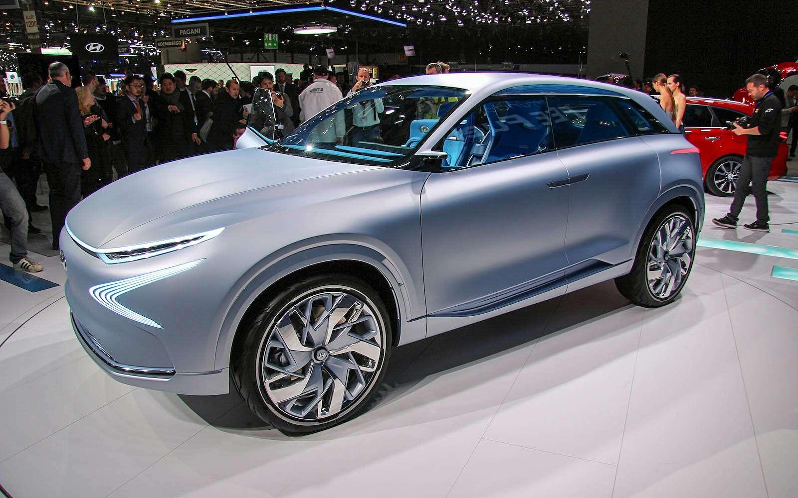 Олимпийский резерв: Hyundai FEFuel Cell станет серийным в2018 году— фото 717621