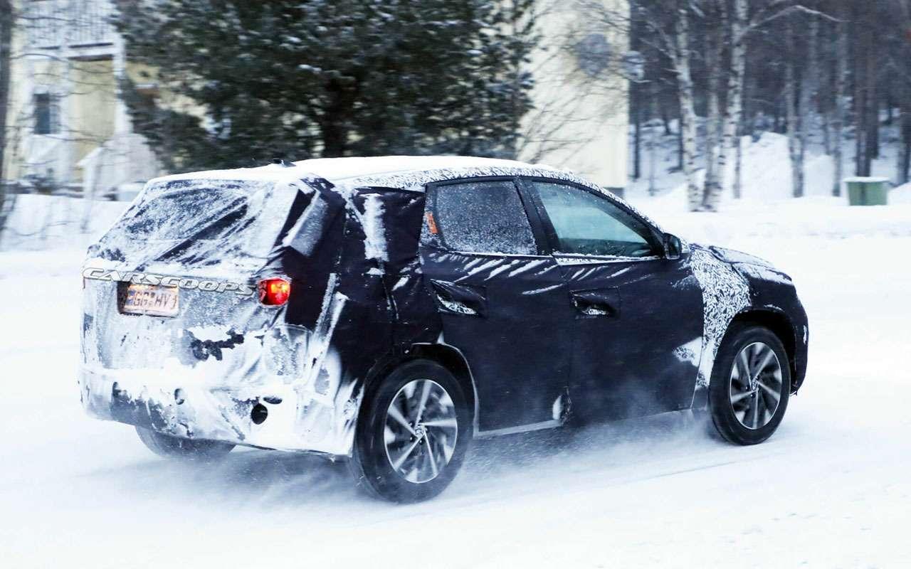 Новый Hyundai Tucson: заканчиваются испытания— фото 1058670