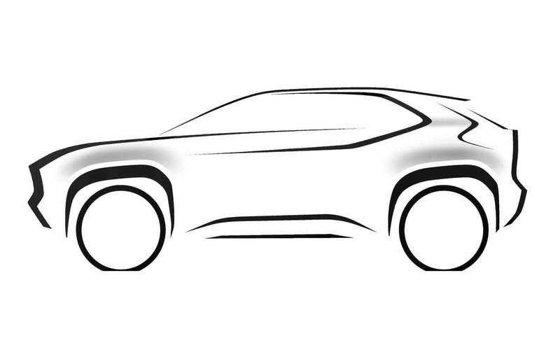 Первое фото нового кроссовера Toyota