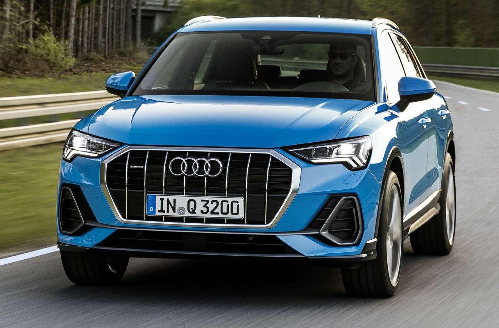 Новый Audi Q3: острые грани ицифровые приборы— фото 890052