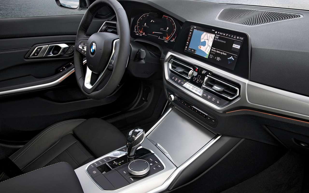 Новый BMW 1-й серии получит салон от3-й серии— фото 949427