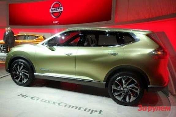Nissan Hi-Cross Concept side-rear view