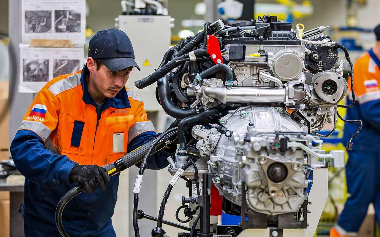 Каксобирают российские Ford Transit— репортаж сзавода— фото 888039