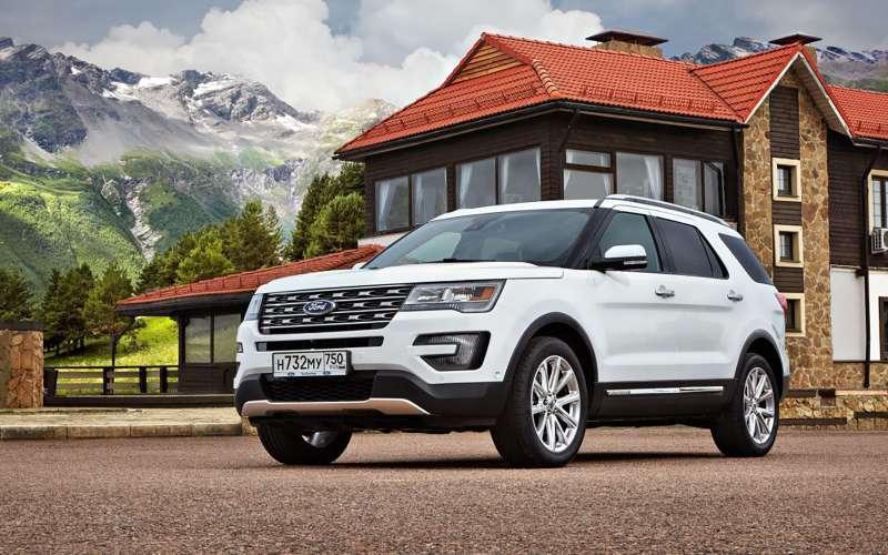 Форд снизил в РФ цены накроссовер Explorer
