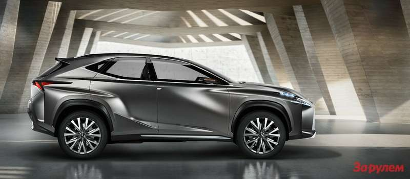 Lexus LF NX side low res
