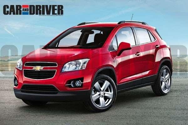 Chevrolet-Enjoy-mini-SUV-a-rebadged-Opel-Mokka-front-three-quarters-1