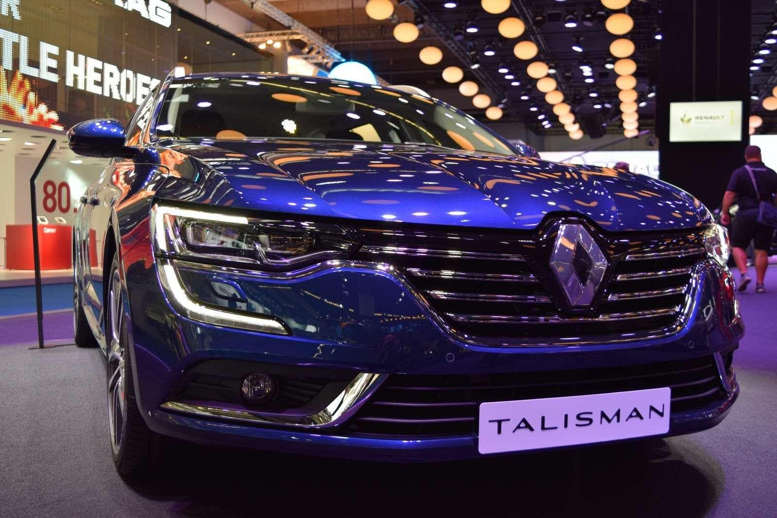 Renault Talisman заедет вавтопарк президента Франции— фото 390897