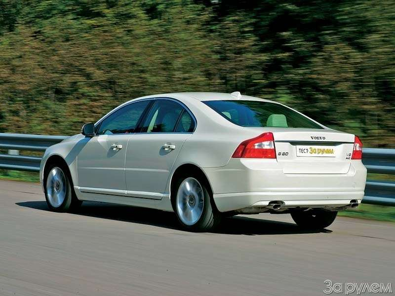Тест Citroen C6, Honda Legend, Volvo S80, Mercedes-Benz E.НАЧЕМ ПОЕХАТЬ ВРИГУ?— фото 68760