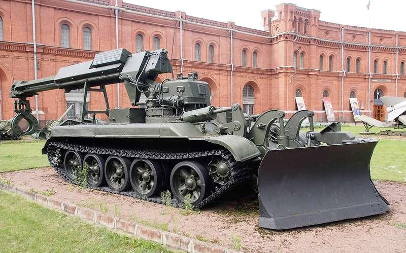 Забытое наследие СССР: танк-бульдозер— да, итакой был!