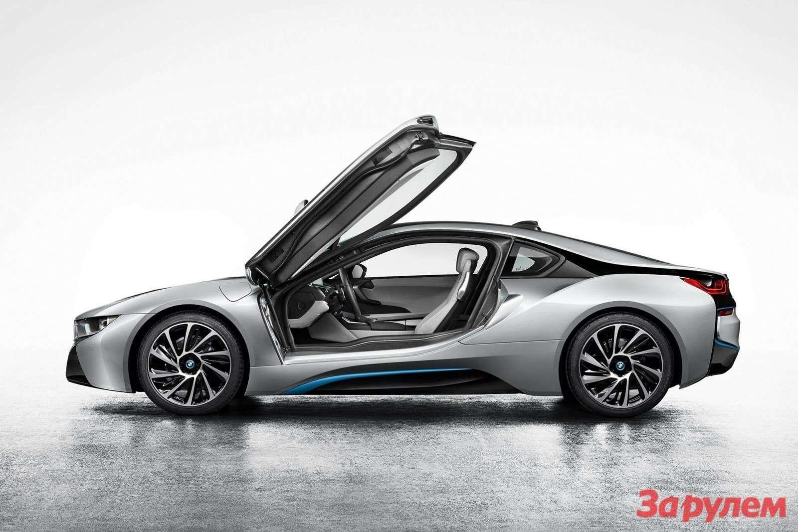 Серийный гибридный спорткар BMW i8