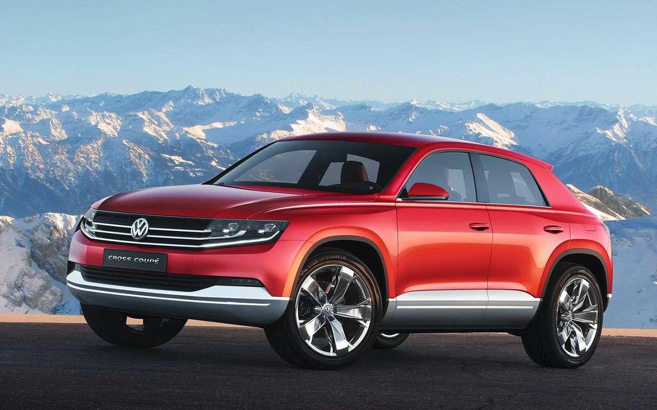 Volkswagen Cross Coupe TDI