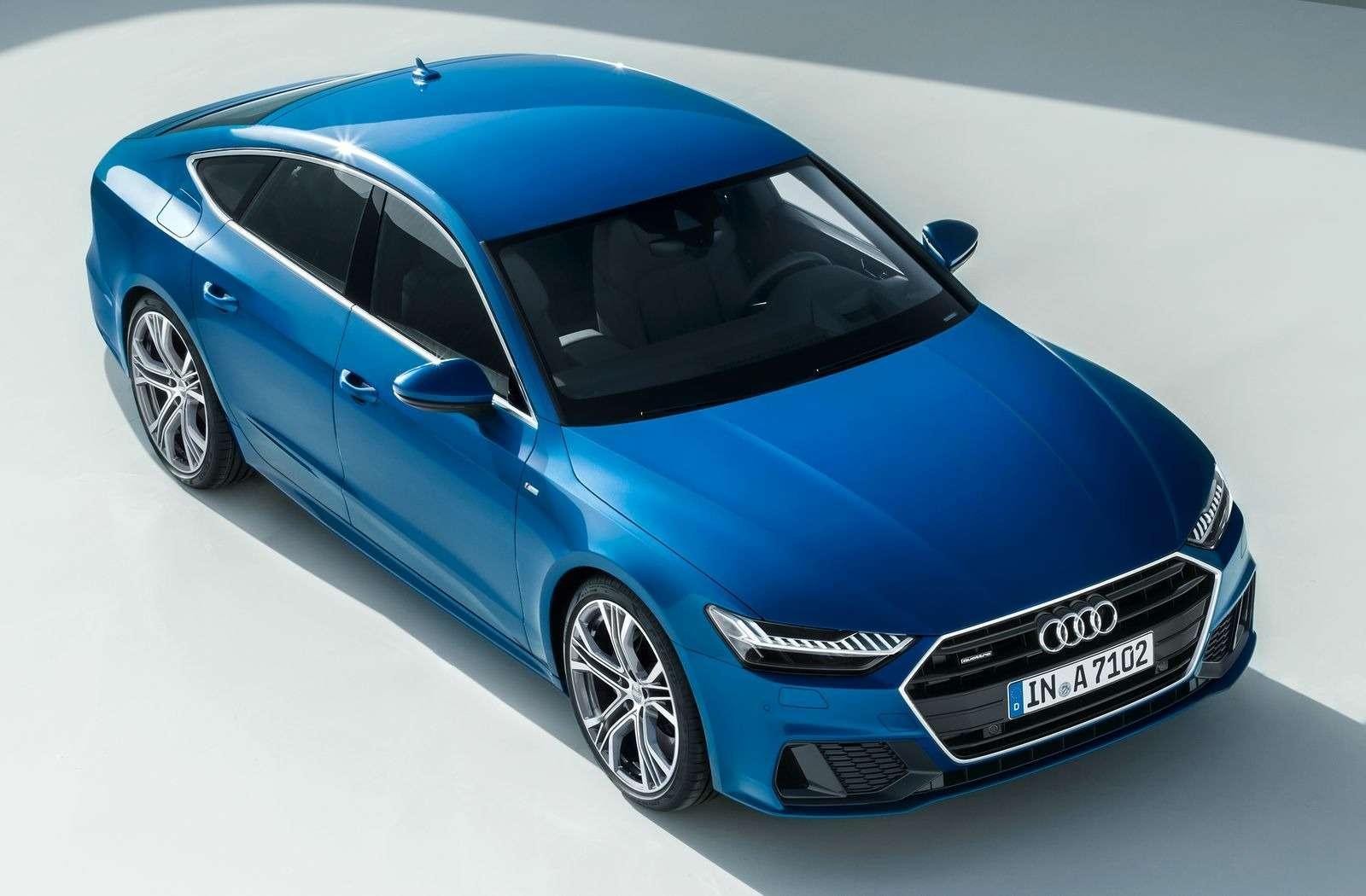 Новый Audi A7Sportback вРоссии: от4320000 рублей— фото 876040