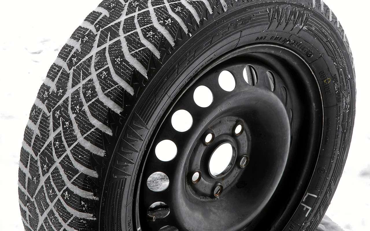 Шипованные шины 185/65R15для бюджетных автомобилей— тест «Зарулем»— фото 794352