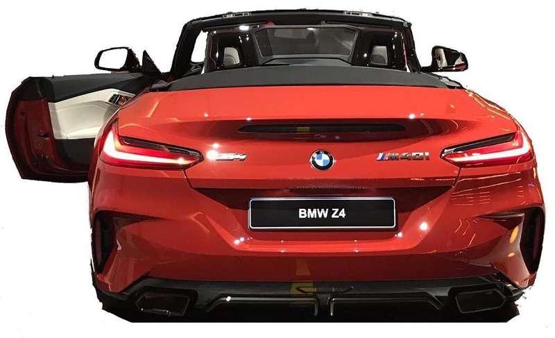 Возрожденный родстер BMW Z4: первые фото серийной версии