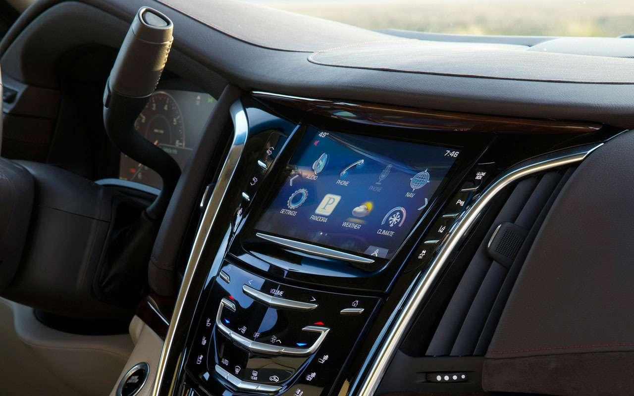 7 больших плюсов и5относительных минусов Cadillac Escalade— фото 984639