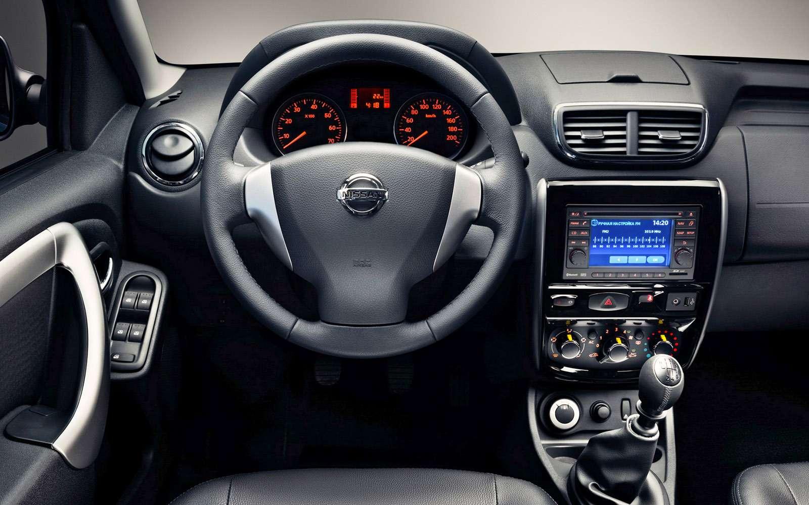 Обновленный Nissan Terrano— тест-драйв— фото 771403