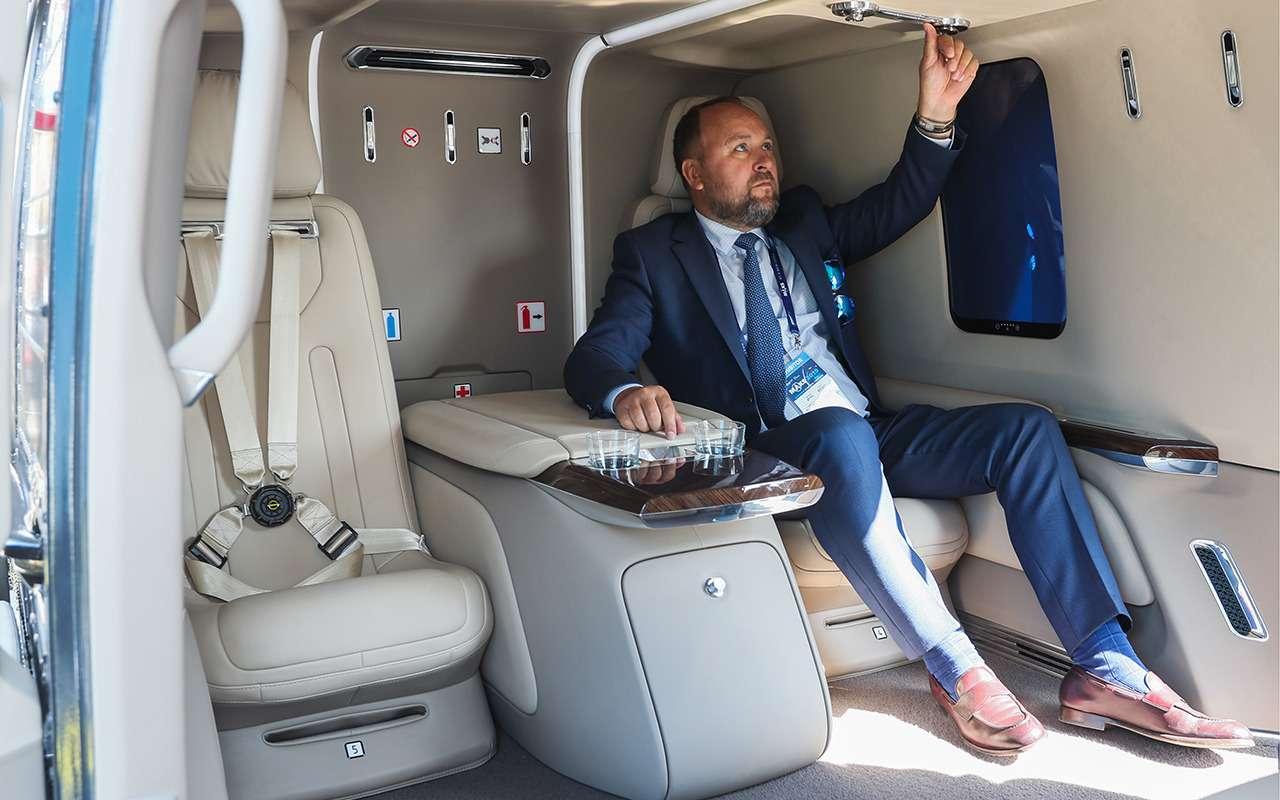 Путин показал Эрдогану Aurus Senat ивертолет Ansat встилистике Ауруса— фото 994379