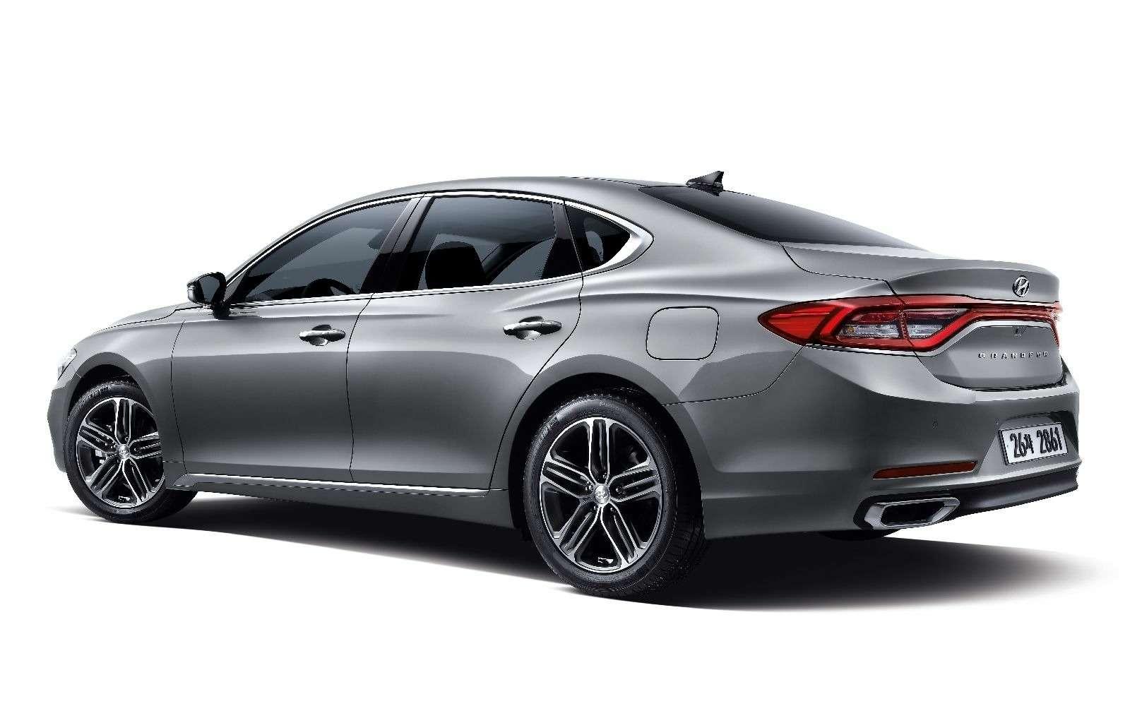 Hyundai может привезти вРоссию большой седан— фото 839181