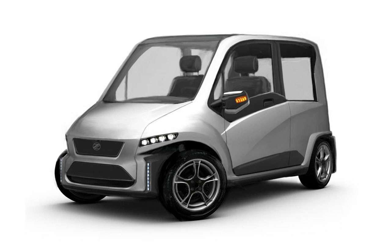 Нашновый автомобиль Zetta: все нестандартные инженерные решения— фото 977237