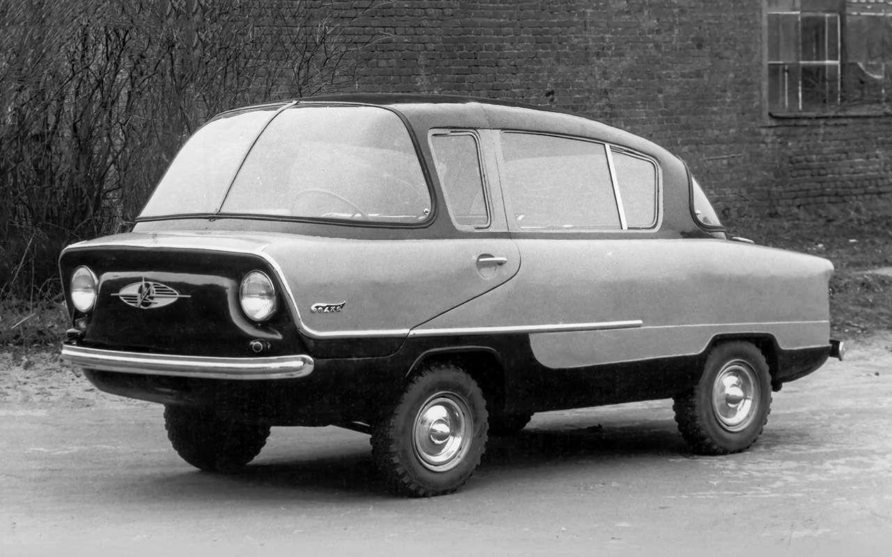 Народные автомобили СССР: вот кто был доЗапорожца!— фото 1253109