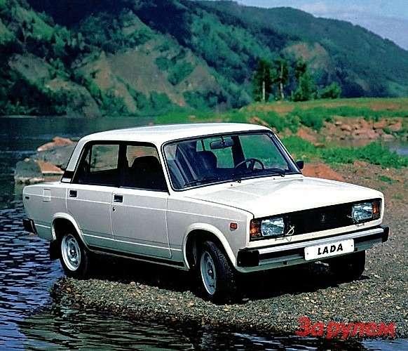 Старт производства ВАЗ-2105: 1,3л, 69л.с., первые вСССР блок-фары. Испытания дизельного ВАЗ-21055.