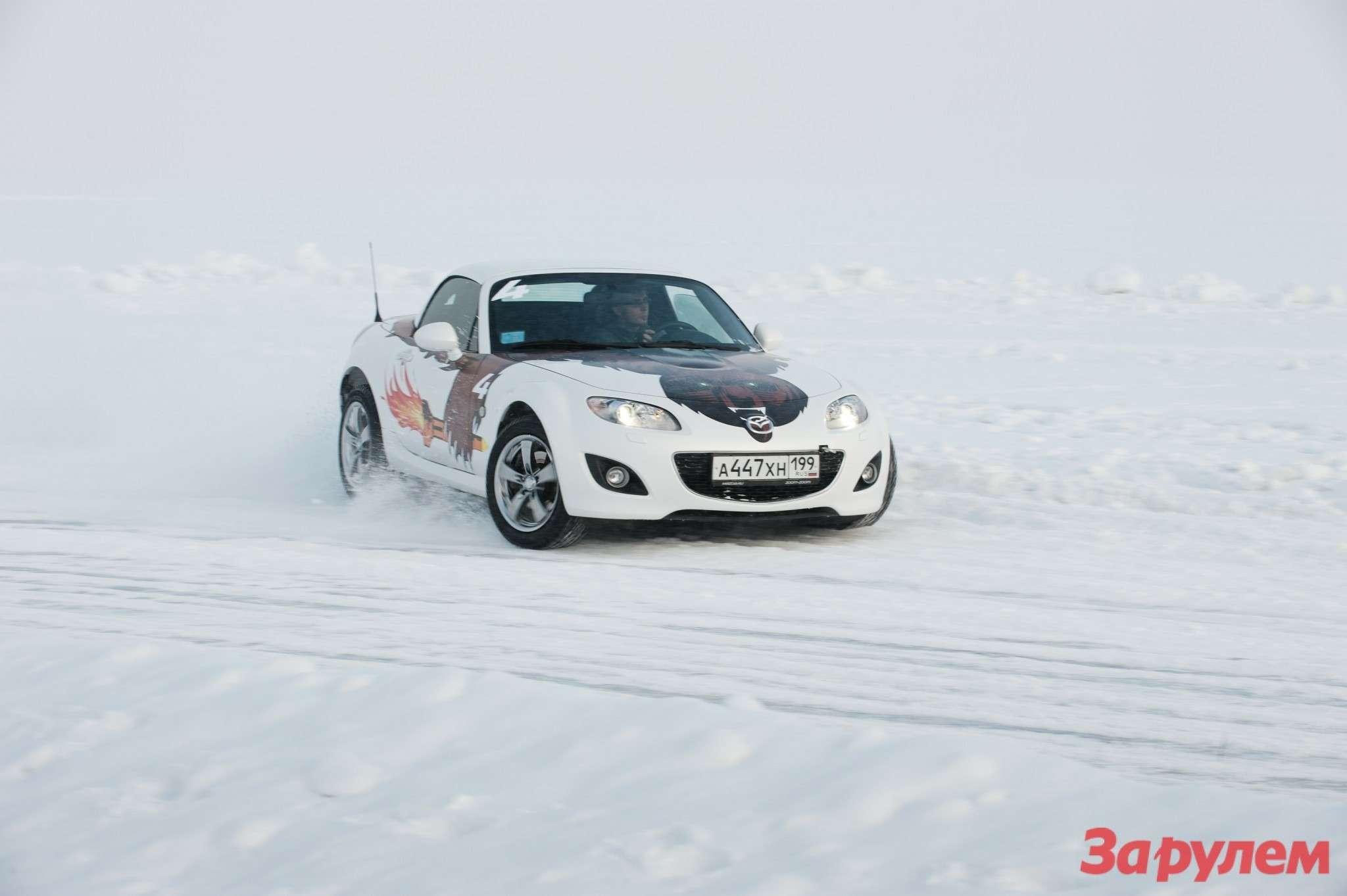 Mazda MX-5— отличный автомобиль, даже длязимы