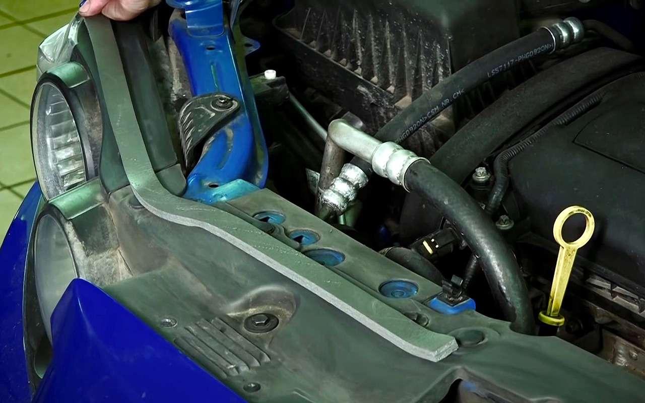 Защищаем мотор отгрязи: надежный бюджетный способ— фото 1060558