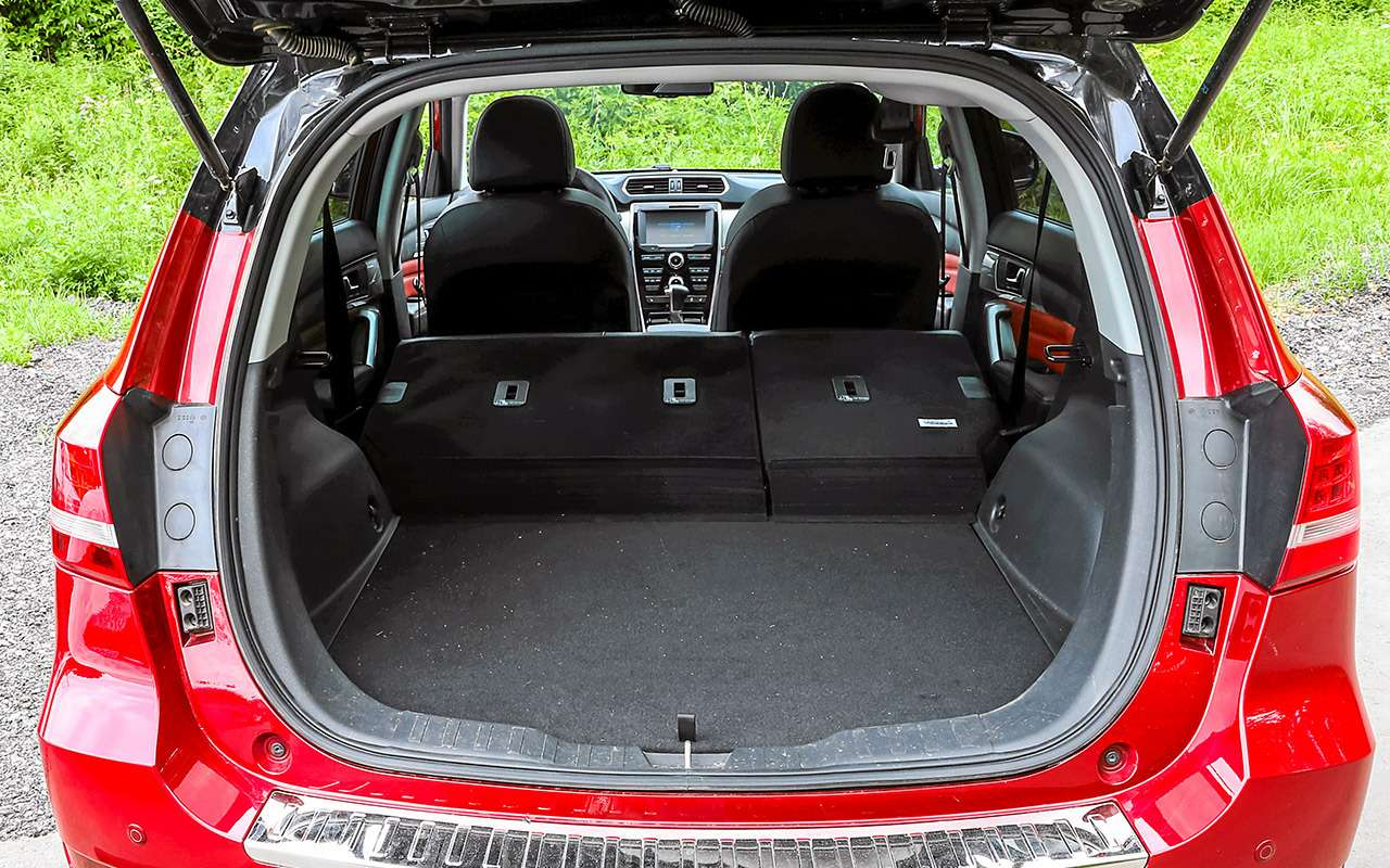 Большой тест кроссоверов: обновленный Ford EcoSport иконкуренты— фото 911203