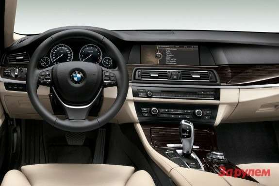 BMW 5 ActiveHybrid inside