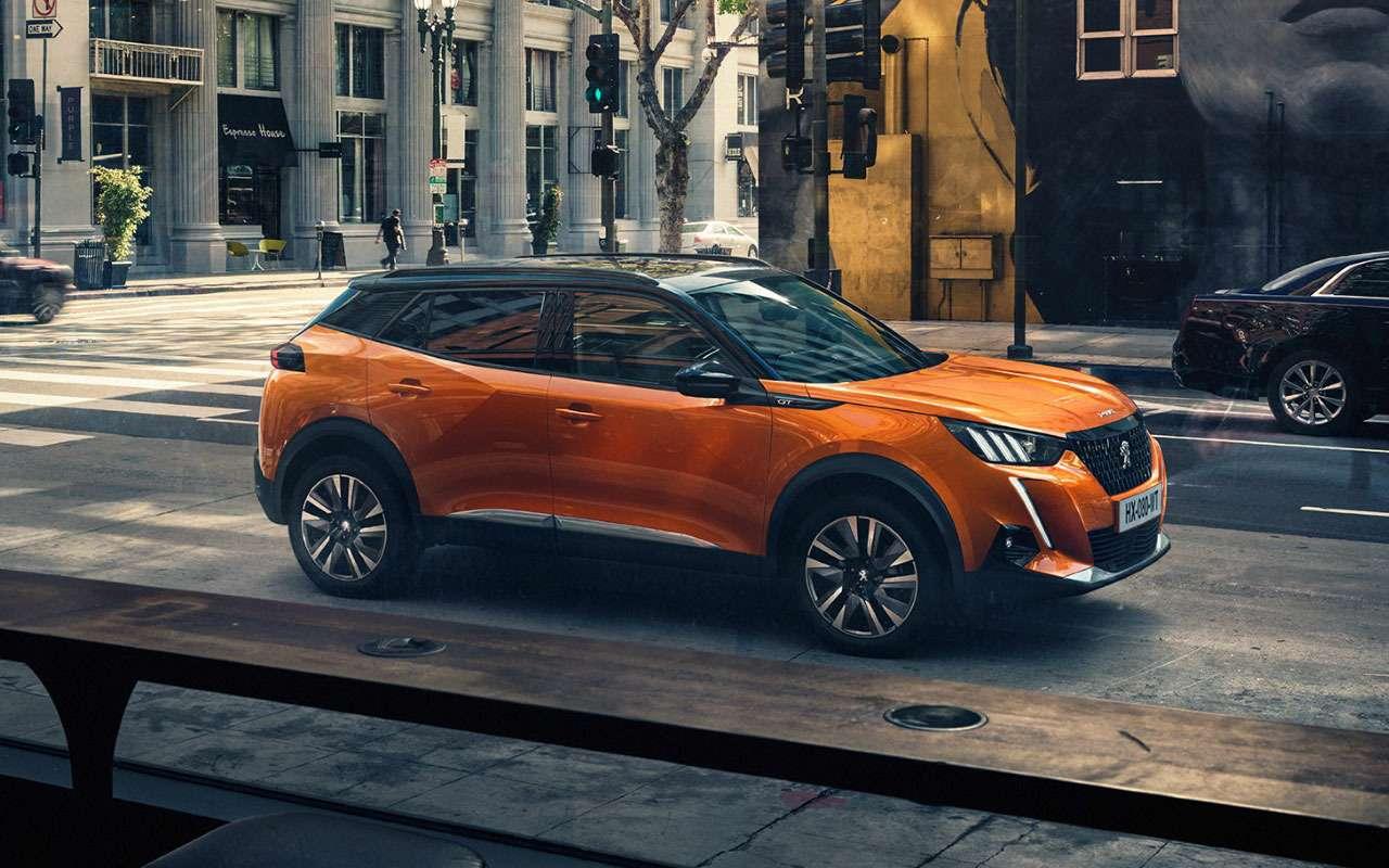 Peugeot представил конкурента Kia Seltos— фото 981307