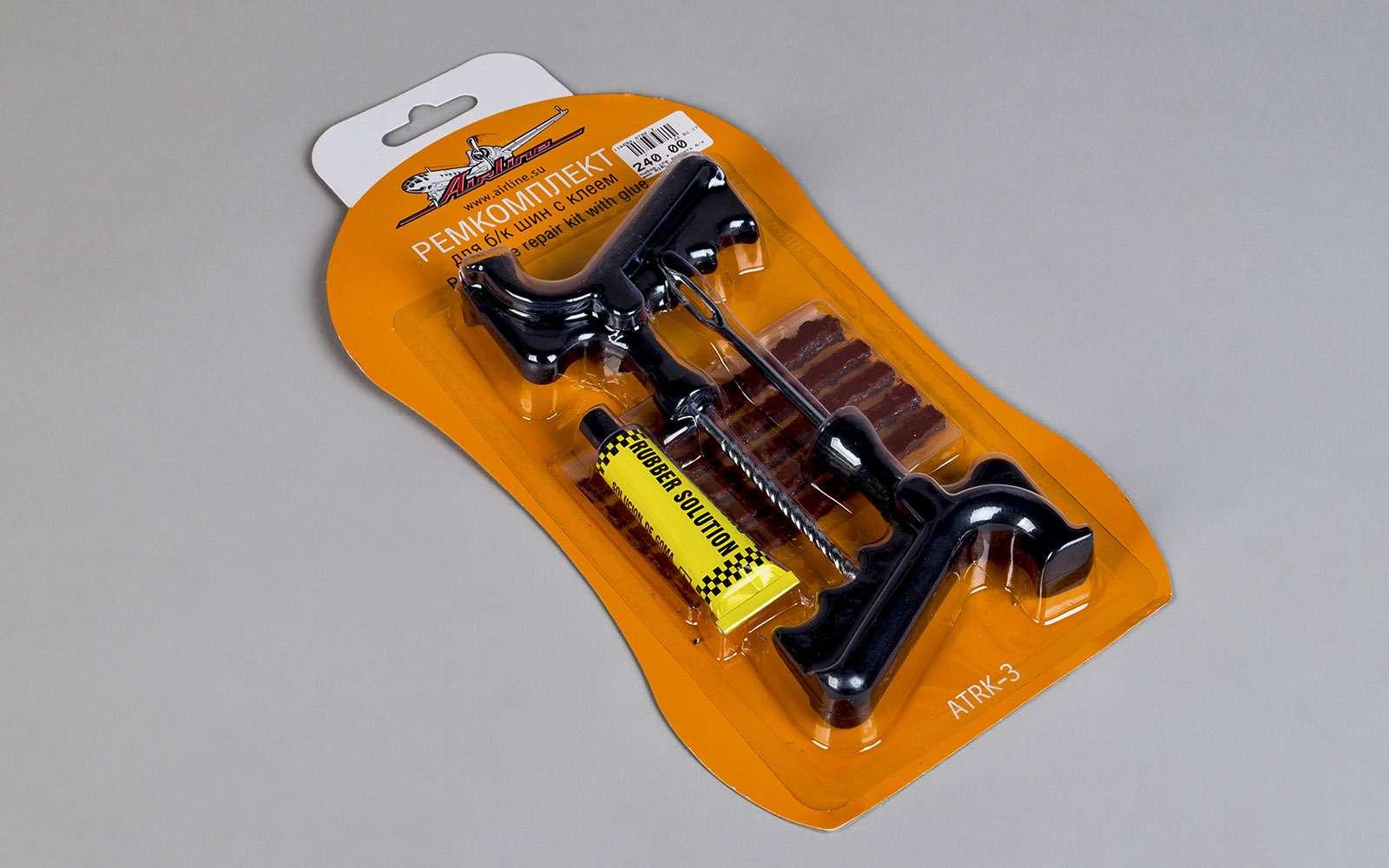 Ремонтируем проколотую шину—  тест 16ремкомплектов исоветы ЗР— фото 771829