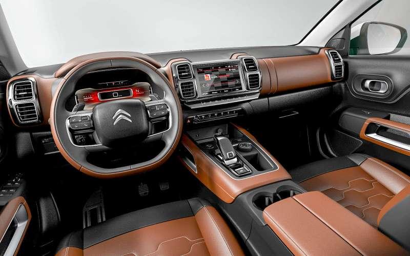 Citroen C5Aircross— оффроуд по-французски