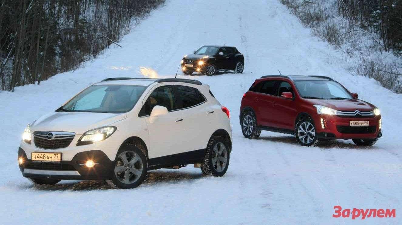 Nissan Juke, Citroen C4Aircross, Opel Mokka