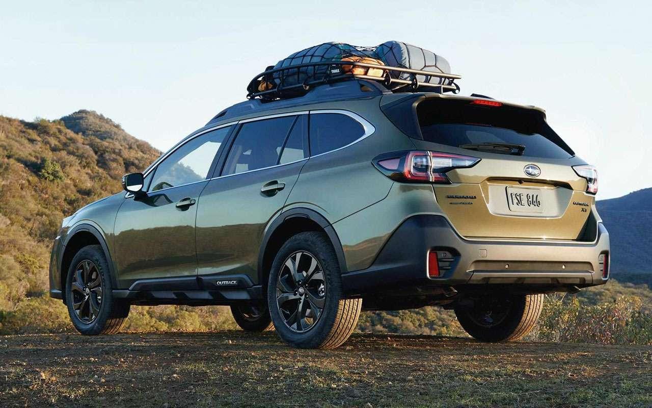 Subaru Outback стал еще прочнее имощнее— фото 967473
