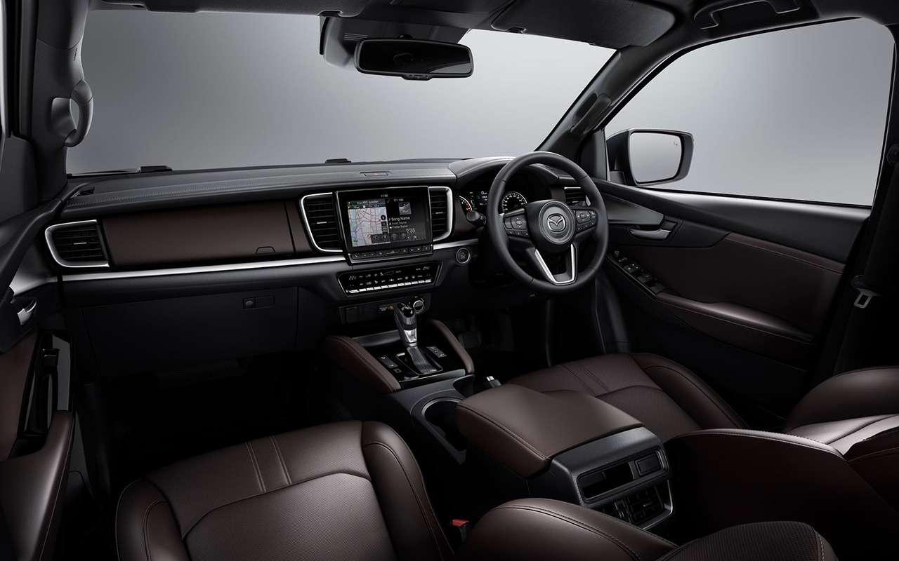 Представлен новый пикап Mazda BT-50— фото 1140600
