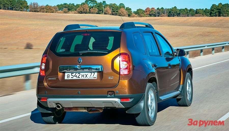 Полноприводный Renault Duster сАКП: счастье мое— фото 260385