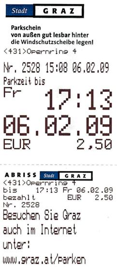 Мойштраф вавстрийском Граце запросроченную парковку невелик. Ноего сумма возрастает вразы, если неуплатить вовремя. Незаплатишь вообще— Европу больше неувидишь.