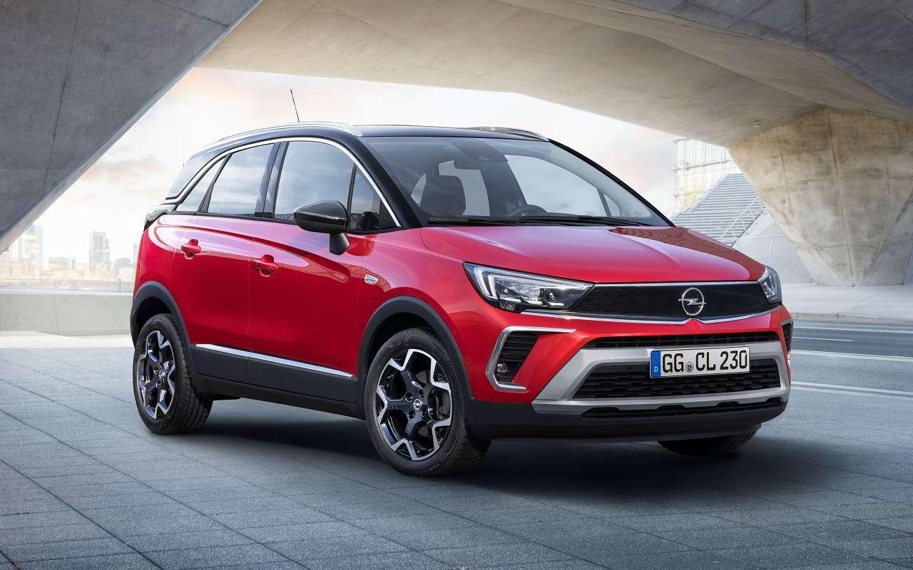 Opel Crossland: новый кроссовер приедет вРоссию— фото 1178435