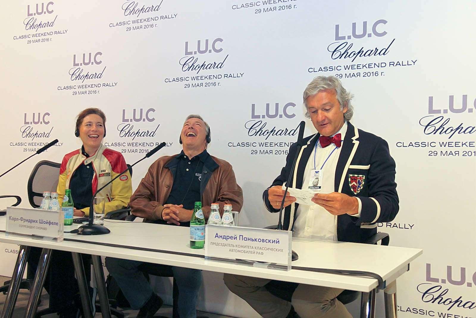 L.U.C Chopard Classic Weekend Rally: эмоции сналетом старины— фото 595977
