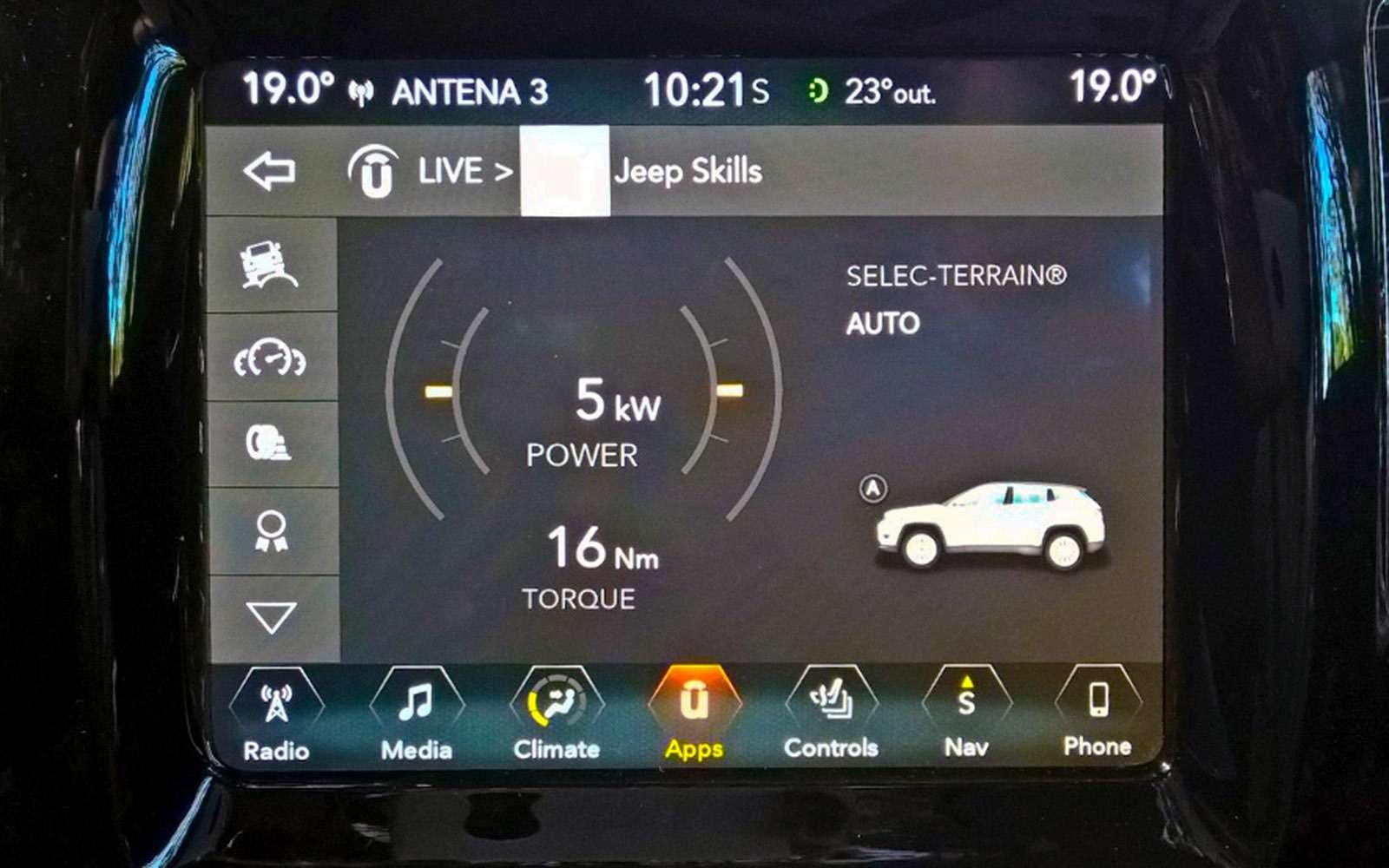 Новый Jeep Compass— тест-драйв ЗР— фото 778108