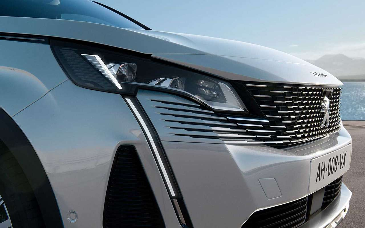 Обновленный Peugeot 3008: встиле «Когти тигра»— фото 1163975