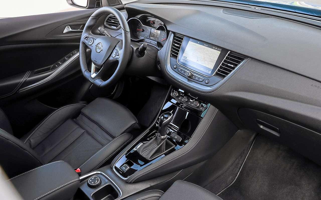 Toyota RAV4и Opel Grandland X— большой тест— фото 1202877