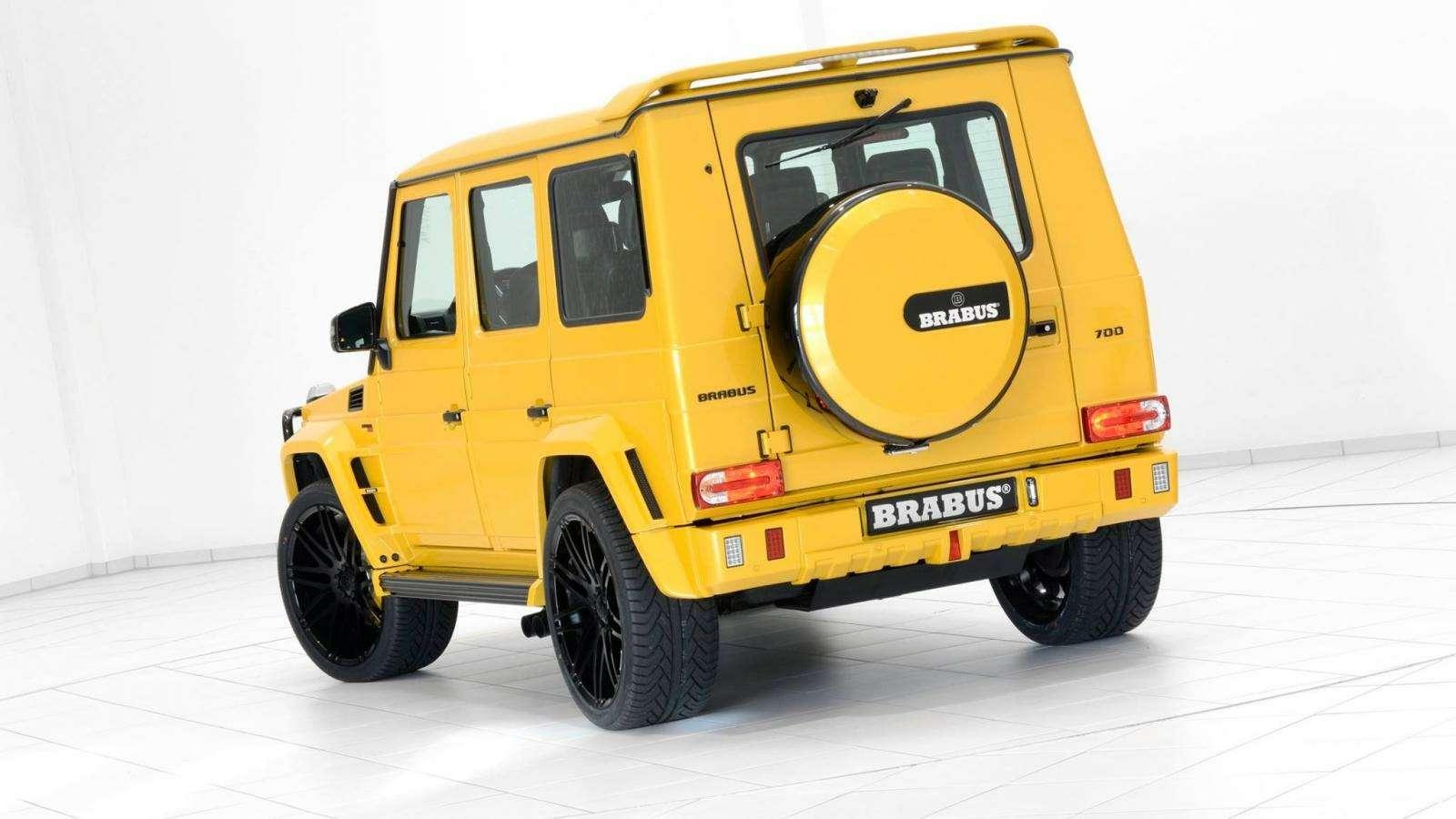 Brabus-такси: желтый Mercedes-AMG G63 готов «бомбить» поавтобанам— фото 577301