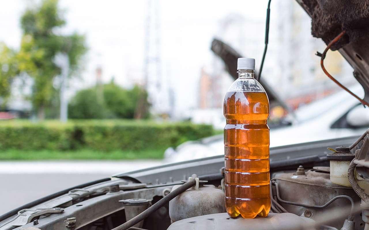 Гаражные мифы: утекло масло— долей подсолнечного. Бред?— фото 1113639